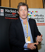 Liberal Democrats<br /> Autumn Conference 2011 <br /> at the ICC, Birmingham, Great Britain <br /> <br /> 17th to 21st September 2011 <br /> <br /> Hugh Grant <br /> Hacked-Off fringe meeting <br /> <br /> Photograph by Elliott Franks