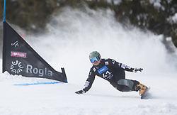 Jeong Haerim during the FIS snowboarding world cup race in Rogla (SI / SLO) | GS on January 20, 2018, in Jasna Ski slope, Rogla, Slovenia. Photo by Urban Meglic / Sportida