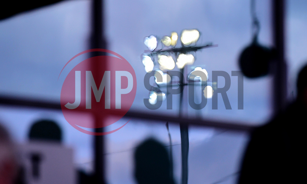 Flood Light reflection  - Mandatory by-line: Joe Meredith/JMP - 22/10/2016 - RUGBY - Sixways Stadium - Worcester, England - Worcester Warriors v Brive - European Challenge Cup