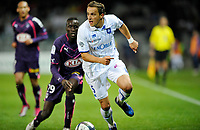 FOOTBALL - FRENCH CHAMPIONSHIP 2010/2011 - L1 - AJ AUXERRE v GIRONDINS BORDEAUX - 16/10/2010 - PHOTO GUY JEFFROY / DPPI - DARIUSZ DUDKA (AUX)