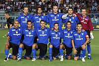 """Empoli 01/09/2007 Stadium """"Carlo Castellani"""" <br /> Empoli-Inter 0-1 Campionato Serie A 2007/2008 Matchday 2<br /> Nella foto:  La formazione dell'Empoli (Empoli)<br /> Foto Gianni Nucci Insidefoto"""