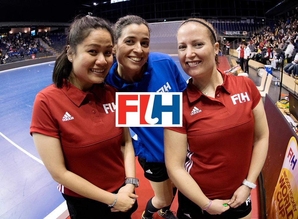 BERLIN - Indoor Hockey World Cup<br /> Women: Germany - Namibia<br /> foto: Officials.<br /> WORLDSPORTPICS COPYRIGHT FRANK UIJLENBROEK