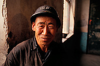 A coalminer near Datong, a main coal producing area in northern China, 1993