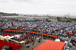 Jan 22, 2012; San Francisco, CA, USA; General view of the parking lot at Candlestick Park before the 2011 NFC Championship game between the San Francisco 49ers and the New York Giants.  Mandatory Credit: Jason O. Watson-US PRESSWIRE