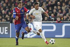 FC Basel V Manchester United - 22 Nov 2017