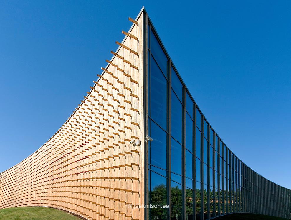 abstract building facade