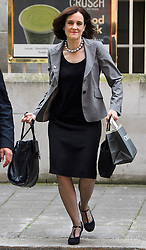 © Licensed to London News Pictures. 21/06/2016. London, UK. 'Vote Leave' campaigner THERESA VILLIERS seen in in Westminster, central London, ahead of a referendum on the UK's membership of the EU on June 23rd.. Photo credit: Ben Cawthra/LNP