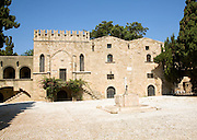 Museum of Decorative Arts, Rhodes old town, Greece
