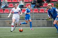 Fotball<br /> 16. August 2014<br /> 1. div. kvinner<br /> Stemmemyren<br /> Sandviken - Fortuna Ålesund<br /> Andrea Thun (L) , Sandviken<br /> Mette Muri (R) , Fortuna Ålesund<br /> Foto Astrid M. Nordhaug