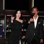 NLD/Amsterdam/20081009 - Opening bar Majestic, Won Yip en Dita von Teese