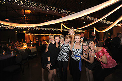 20110219 (lft-rt) Kim Freel, Stephanie Strine, Patty Jones, Sarah Martin, Liz Staab, Amy Lykins, Sheri Kuepfer, Nicole Del Toro on the dance floor..     The 2nd Annual Harrison Nichols Foundation Gala, 'Believe in the Unbelievable', was held Saturday night, Feb. 19, at CenterStage in NoDa..     The Harrison Nichols Foundation was fashioned from one child's fight against a currently incurable cancer known as Neuroblastoma. The longer Harrison struggled to beat this deadly disease, the more evident it became that this battle would only be won with medical, financial and scientific support. The Harrison Nichols Foundation's goal is to provide that support. Its focuses are to offset the financial burdens of families fighting Neuroblastoma, to raise local and national awareness regarding Neuroblastoma, and to fund both the education and research necessary to find a cause and a cure. © Laura Mueller - www.lauramuellerphotography.com