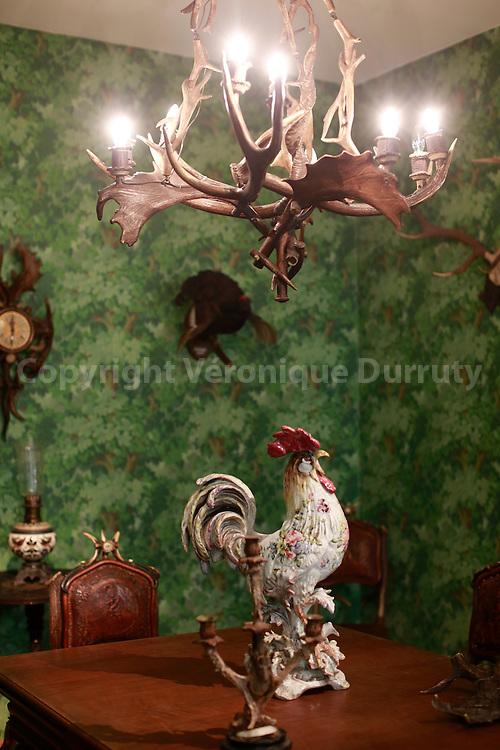 Hunting Room; Imperial Furniture Museum, Vienna, Austria // Salon de chasse, Musee des meubles imperiaux, Vienne, Autriche