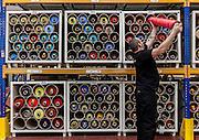 Lyon, Atelier Hermès, silk archive