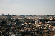 Rome, the writer Taiye Selasi, view from  Hassler hotel
