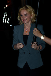 Geri Halliwell, former Spice Girl, leaves   addressing The Oxford Union. Oxford, Monday 11th June 2012.Photo by: Mark Chappell/i-Images