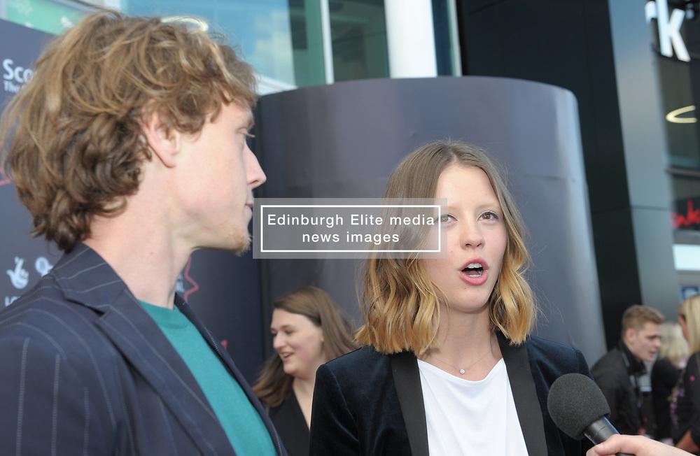 Edinburgh International Film Festival, Thursday, 21st June 2018<br /> <br /> THE SECRET OF MARROWBONE (UK PREMIERE)<br /> <br /> Pictured: George MacKay and Mia Goth <br /> <br /> (c) Aimee Todd | Edinburgh Elite media