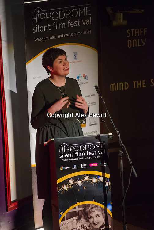 Bo'Ness Hippodrome Festival of Silent Cinema 2017<br /> <br /> Opening Night film The Grub Stake with original score composed by Jane Gardner.<br /> <br /> picture by Alex Hewitt<br /> alex.hewitt@gmail.com<br /> 07789 871 540