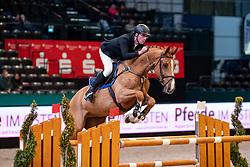 KÖLZ Michael (GER), DSP Anpowikapi<br /> Leipzig - Partner Pferd 2019<br /> Eröffnungsspringen<br /> 17. Januar 2019<br /> © www.sportfotos-lafrentz.de/Stefan Lafrentz