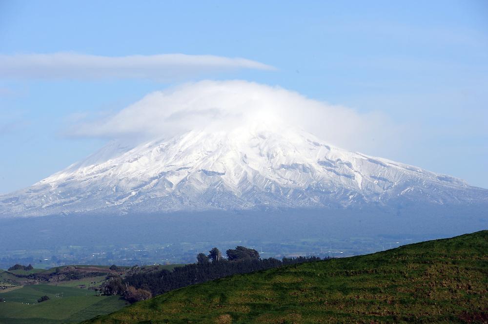 Mount Taranaki, New Plymouth, New Zealand, Friday, June 21 2013. Credit:SNPA / Ross Setford