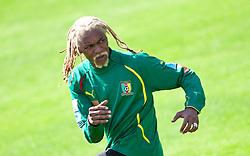 21.05.2010, Dolomitenstadion, Lienz, AUT, WM Vorbereitung, Kamerun Training im Bild , EXPA Pictures © 2010, PhotoCredit: EXPA/ J. Feichter / SPORTIDA PHOTO AGENCY