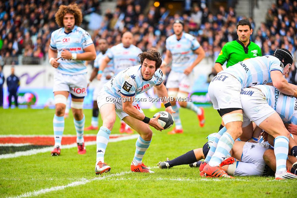 Maxime MACHENAUD  - 11.04.2015 - Racing Metro / Montpellier  - 22eme journee de Top 14 <br />Photo : Dave Winter / Icon Sport