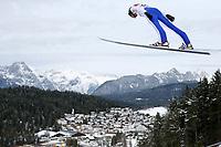 Kombinert , ,16.JAN.14 - SKI NORDISCH, NORDISCHE KOMBINATION, SKISPRINGEN- FIS Weltcup Nordic Triple, Training. Bild zeigtt Magnus Moan (NOR).<br /> Norway only