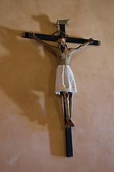 Mexican folk art of Jesus Christ on a cross