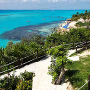 Garrafon park. Isla Mujeres. Quintana Roo, Mexico.