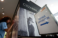 "Insid of the Musée Granet hosting a ""Picasso Cézanne* exibition."