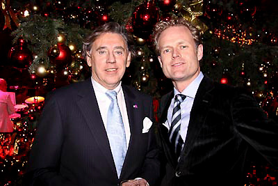 NLD/Haarlem/20081217 - Princess kerstborrel 2008, Ed Nijpels en .......