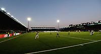 Fotball , 12. april 2019 , Eliteserien , Strømsgodset - Mjøndalen<br /> ilustrasjon ,  , , publikum , fan , fans , ÆLV CLASSICO ,  , tifo , Marienlyst stadion , tribune