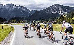 11.07.2019, Kitzbühel, AUT, Ö-Tour, Österreich Radrundfahrt, 5. Etappe, von Bruck an der Glocknerstraße nach Kitzbühel (161,9 km), im Bild Team Neri Selle Italia KTM beim Berganstieg // Team Neri Selle Italia KTM beim Berganstieg during 5th stage from Bruck an der Glocknerstraße to Kitzbühel (161,9 km) of the 2019 Tour of Austria. Kitzbühel, Austria on 2019/07/11. EXPA Pictures © 2019, PhotoCredit: EXPA/ JFK