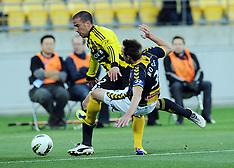 Wellington-Football, A-League, Phoenix v Central Coast Mariners