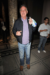 MICHAEL BARRYMORE at a private view of a new collection of bronzes and original paintings by artist Jonathan Wylder and his muse Jennifer Wade held at the V&A Museum, London on 27th April 2011.