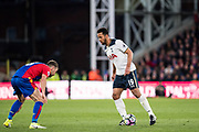 Crystal Palace midfielder James McArthur (18), Tottenham Hotspur midfielder Mousa Dembele (19) during the Premier League match between Crystal Palace and Tottenham Hotspur at Selhurst Park, London, England on 26 April 2017. Photo by Sebastian Frej.