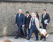 08/04/2013 Praveen Halappanavar and his legal team arriving at Galway Coroner Court for the Inquest into the death of his wife Savita at Galway University Hospital. Picture:Andrew Downes..