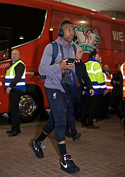 NEWCASTLE-UPON-TYNE, ENGLAND - Saturday, May 4, 2019: Liverpool's Daniel Sturridge arrives ahead of the FA Premier League match between Newcastle United FC and Liverpool FC at St. James' Park. (Pic by David Rawcliffe/Propaganda)