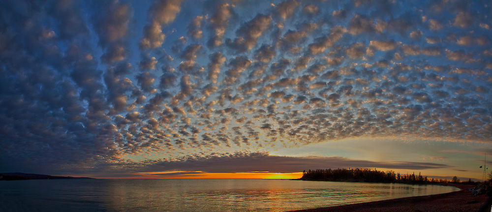 East bay Morning and Artists Point in Grand Marais Minnesota