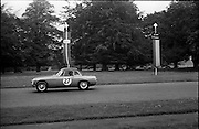 16/09/1967<br /> 09/16/1967<br /> 16 September 1967<br /> Phoenix Park Motor Racing, Kingsway Trophy Race, sponsored by Player and Wills (Ireland) Limited. <br /> Image shows K.J. Farrell's M.G.B. (27).