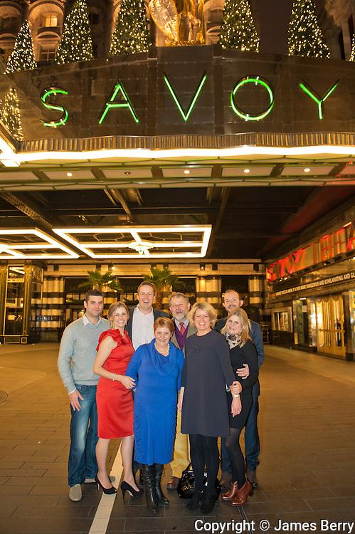 The Savoy. London. 3rd January 2013.
