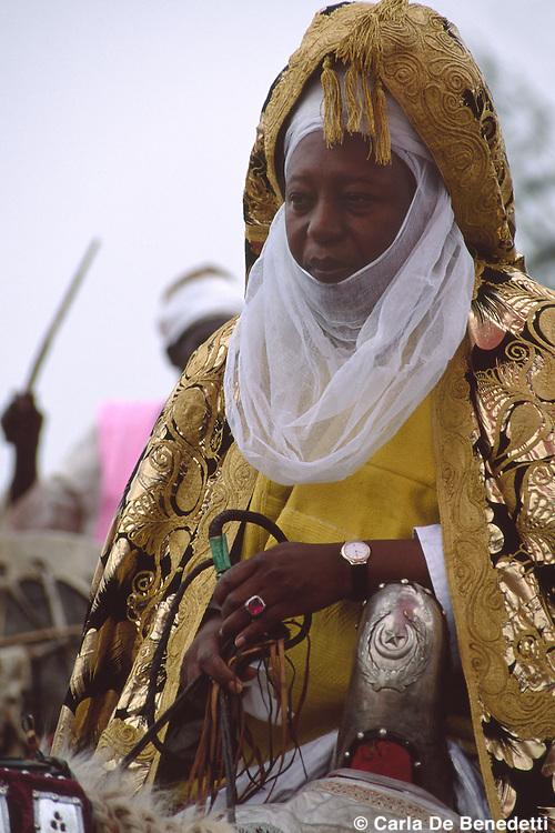 His Royal Majesty Sarkin Zazzau Shehu Idris, Emir of Zaria, Nigeria