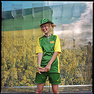 """Melbourne, Australia, 19 lived on the street for 3 months. Lives in a warehouse now, without a kitchen. Wants to move to a squad soon..""""I found a job, but without the self-confidence I won by playing football, I wouldn't even have gone to the job interview. In 5 years I want to live on a farm in the mountains, breed chicken and grow vegetables"""