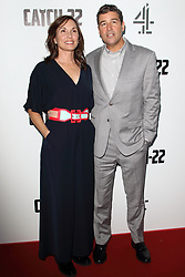 May 15, 2019 - London, United Kingdom - Kyle Chandler and Kathryn Chandler attend the Catch 22 - TV Series premiere at the Vue Westfield, Westfield Shopping Centre, Shepherds Bush (Credit Image: © Keith Mayhew/SOPA Images via ZUMA Wire)