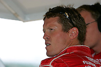 Scott Dixon at the Pikes Peak International Raceway, Honda Indy 225, August 21, 2005