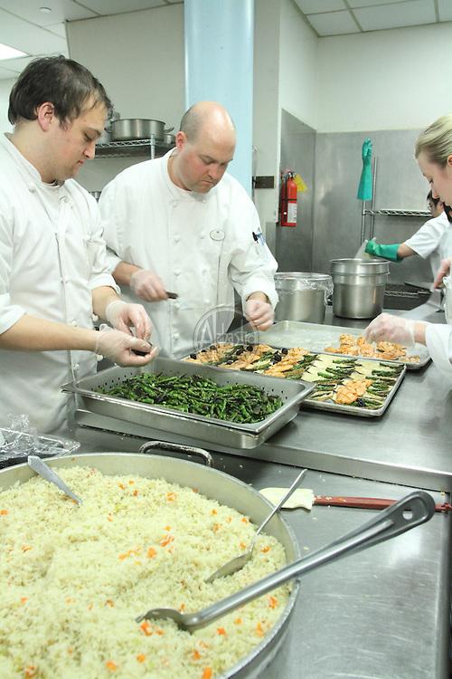 MPI WSC & OC   Cascadia 2012 in the kitchen at Hotel Murano.