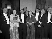 "02/02/1954<br /> 02/02/1954<br /> 02 February 1954<br /> ""Bohemians"" Music Club, Ladies Night at the Gresham Hotel, Dublin."