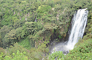 Kenya, Thomson's Falls a 74 m (243 ft) scenic waterfall on the Ewaso Narok river,