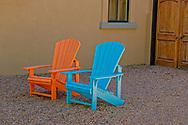 Marfa, Texas, chairs, patio, home