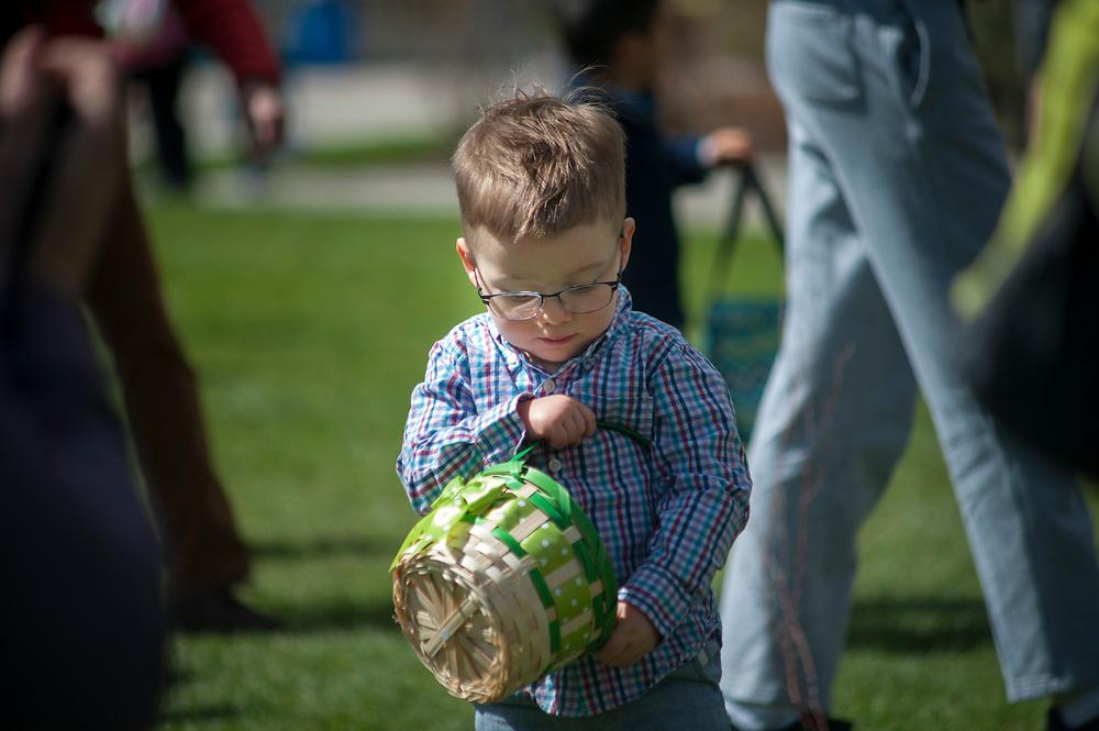 Alumni Easter Egg Hunt on Sunday, April 9th, 2017 on Herak Lawn.