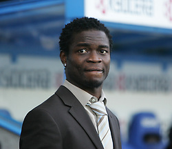 Reading, England - Saturday, January 20, 2007: Reading's Sam Sodje before the game against Sheffield United before the Premier League match at the Madejski Stadium. (Pic by Chris Ratcliffe/Propaganda)